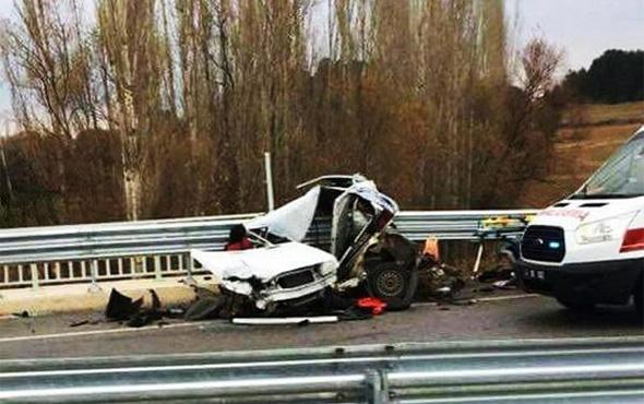 Kütahya'da feci kaza: Ölü ve yaralılar var!