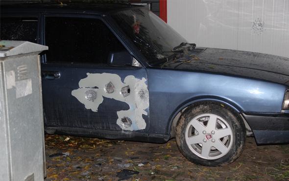Konya'da otomobile ateş açıldı: 1 yaralı