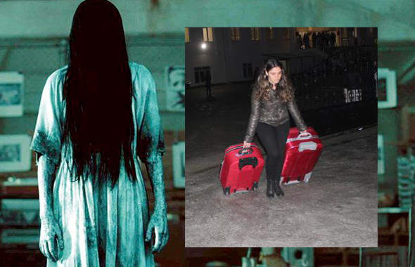 Karaman kız yurdundaki hayalet! Halka'daki Samara gibi ve...