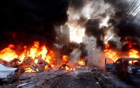 Suudi Arabistan Yemen'i havadan vurdu! Çok sayıda sivil...