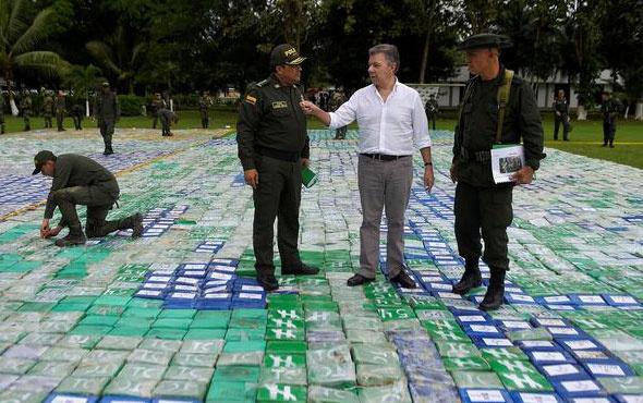 360 milyon dolarlık uyuşturucu yakalandı!