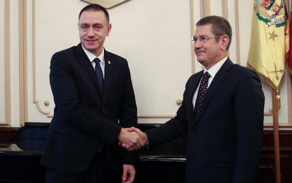 Milli Savunma Bakanı Canikli, Rumen mevkidaşıyla görüştü