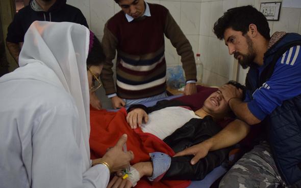 Üniversite yurduna bombalı saldırı dehşeti
