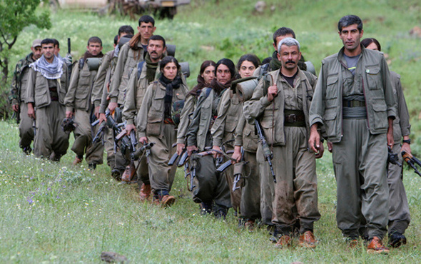 İşte PKK'nın silah depoları! ABD'yle birlikte...