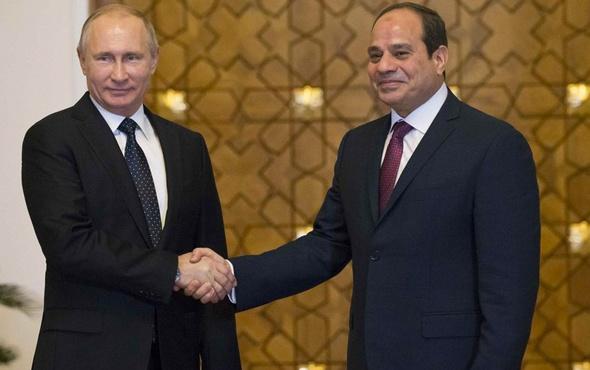 Putin ve Sisi nükleer konusunda anlaştı