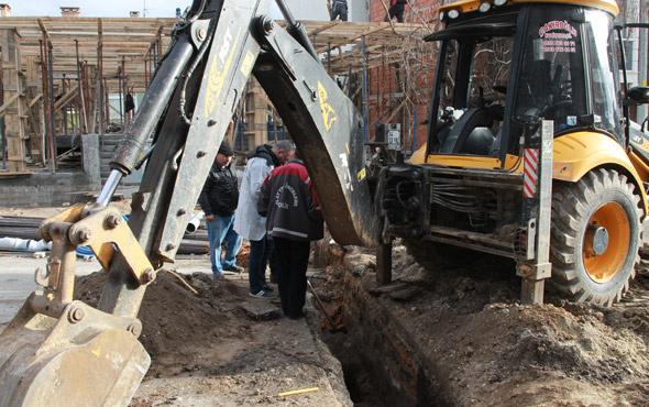 Kırklareli'nde kazı çalışmasında dehşet