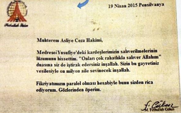 Gülen imzalı talimat! En somut belge ele geçirildi