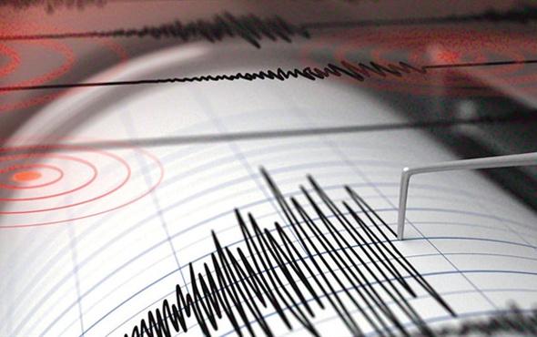 Endonezya'da şiddetli deprem
