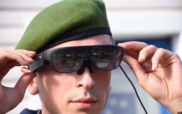 Jandarmanın akıllı gözlüğü TAKBUL'a dünya talip!