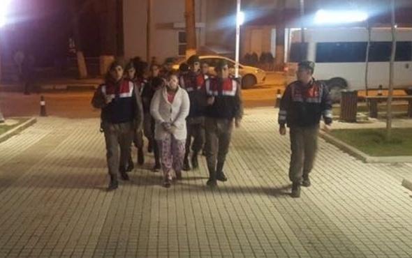 """Takılarla kaçan Suriyeli """"sahte gelin"""" yakalandı"""