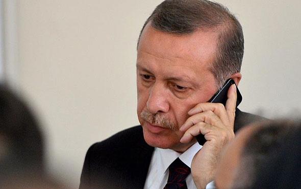 Cumhurbaşkanı Erdoğan'dan Mesut Yılmaz'a taziye telefonu