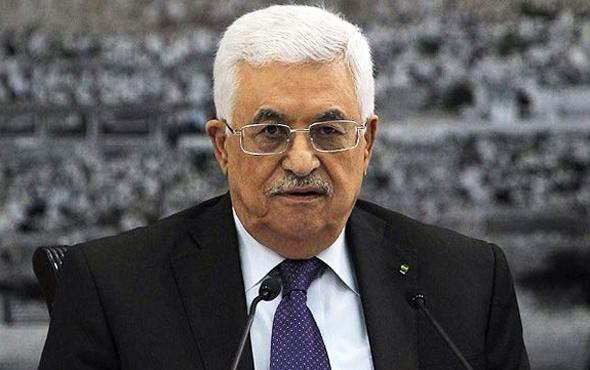 Filistin Devlet Başkanı Abbas: Tüm dünya kabul ediyor