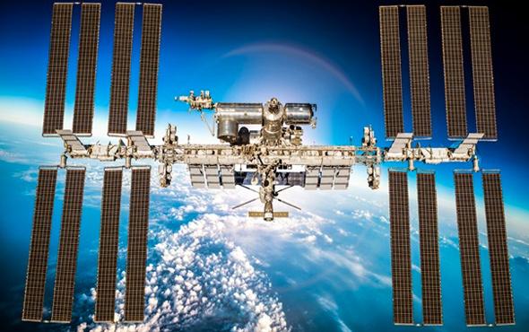 2 tonluk kapsül Uluslararası Uzay İstasyonu'na ulaştı