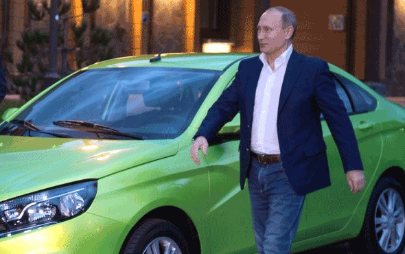 'Rus efsanesi' Lada, yeniden Türkiye yollarında