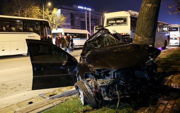 Bursa'da feci kaza ölü ve yaralılar var