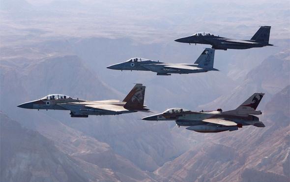İsrail savaş uçakları İran askeri üssüne saldırdı