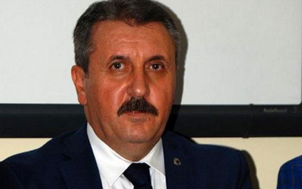 BBP lideri Destici'den CHP'ye Zarrab ve belge tepkisi