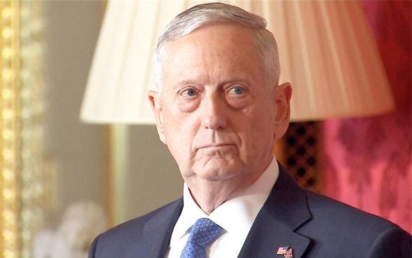 ABD Savunma Bakanı Mattis'den flaş YPG açıklaması