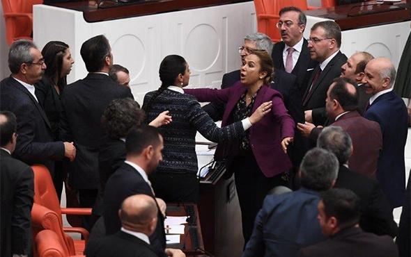 TBMM'de tansiyon yine yükseldi: AK Parti-HDP gerilimi!
