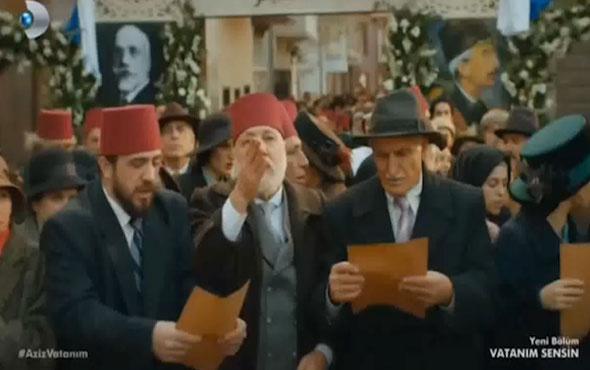 Vatanım Sensin'de duygulandıran Mustafa Kemal'den mektup sahnesi