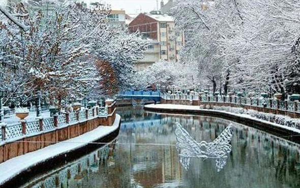 Ekişehir hava durumu kar yağışı için alarm