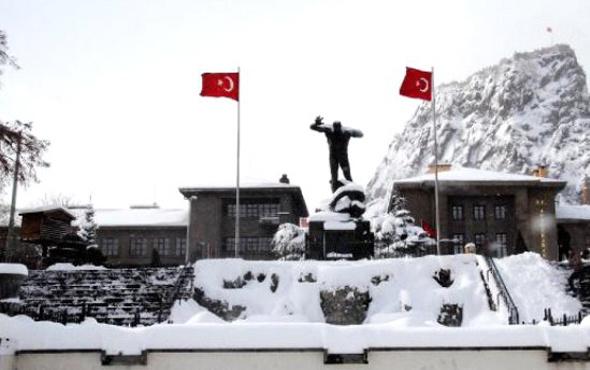 Afyonkarahisar hava durumu kötü kar yağışı için alarm