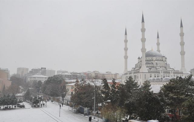 Kırıkkale'de kar alarmı 5 günlük hava durumu kötü