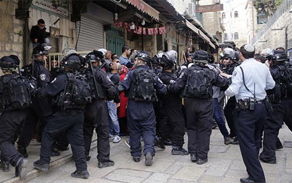 İsrail polisi iki Türk'ü gözaltına aldı!