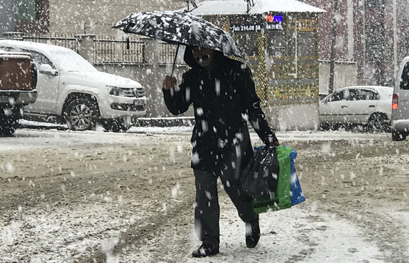 Kayseri hava durumu okulları tatil ettirecek kar yağışı