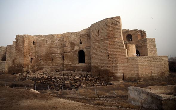 Şanlıurfa Harran'da 9 asırlık bir hamam bulundu