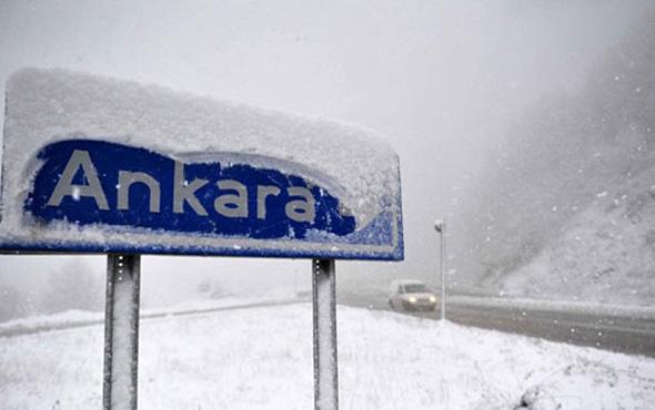 Ankara hava durumu kar geliyor okulları tatil mi?