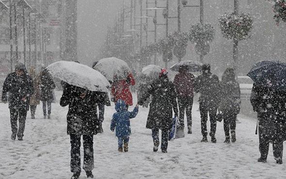 Kırıkkale hava durumu okulları tatil ettirecek kar yağışı