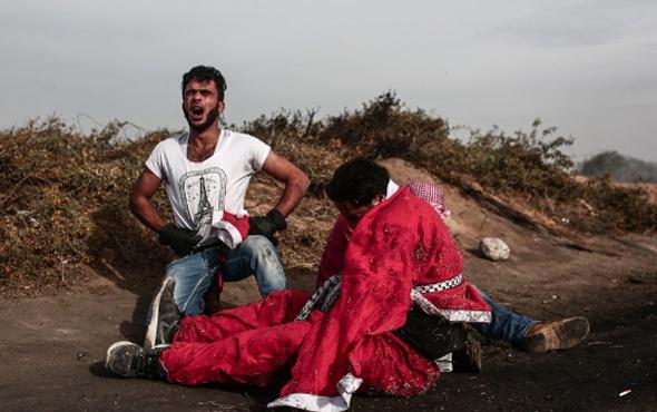 İsrail askerleri 'Noel Baba'yı vurdu