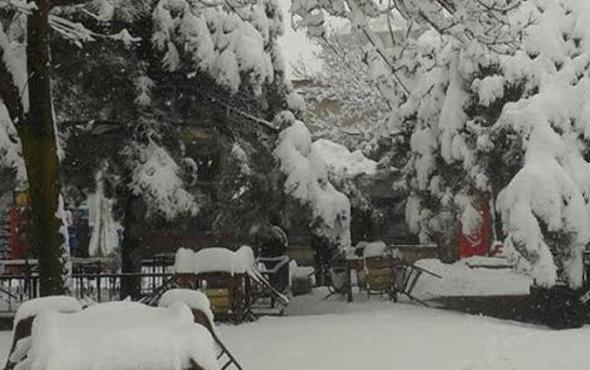 Aksaray hava durumu okulları tatil ettirecek kar yağışı