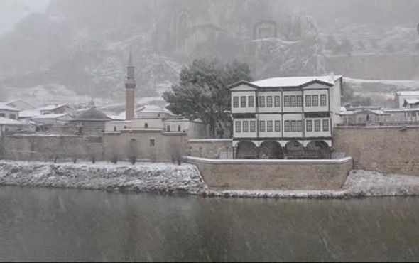 Amasya hava durumu okullar tatil mi kar geliyor