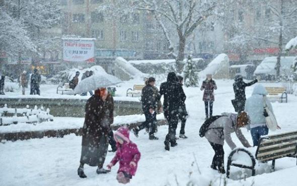 Tokat hava durumu kar geliyor okullar tatil olacak mı?