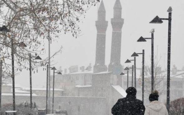 Sivas hava durumu kar kapıda okulları tatil olacak mı?