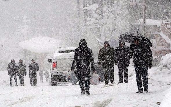 Yozgat hava durumu okulları tatil ettirecek kar yağışı