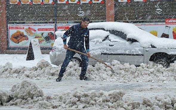 Muş 5 günlük hava durumu okulları tatil ettirecek kar yağışı