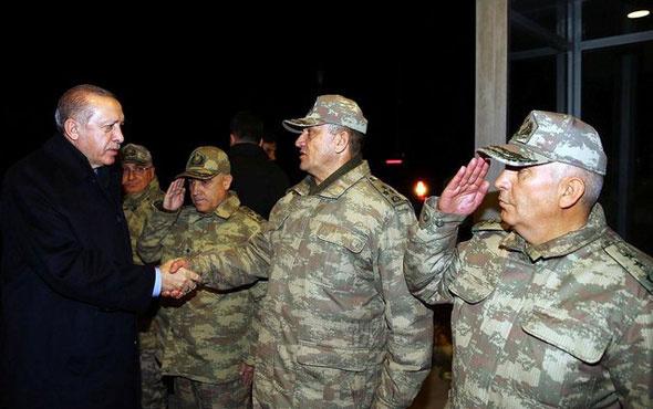 Cumhurbaşkanı Erdoğan'dan sürpriz sınır ziyareti...