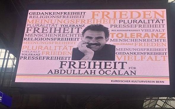 CHP'den Zürih'teki PKK reklamına tepki