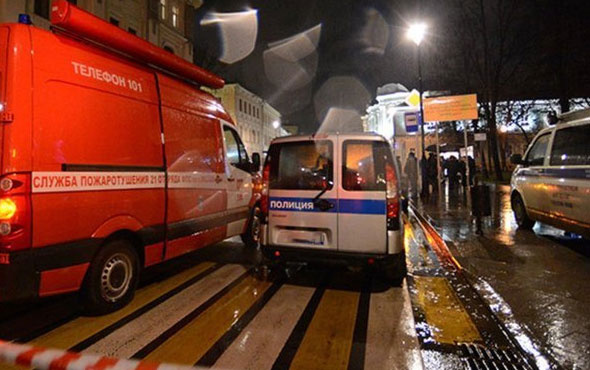 Rusya'da süpermarkette patlama: 10 yaralı