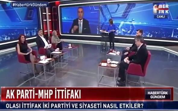 Habertürk ekranlarında Ahmet Kaya kavgası! İki gazeteci birbirine girdi!