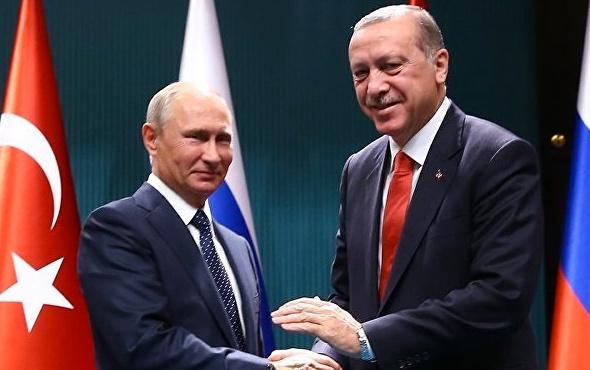 Putin'den Erdoğan'a yeni yıl mesajı!
