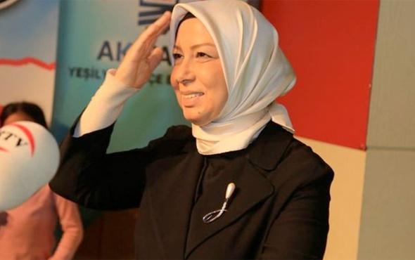 AK Parti Genel Başkan Yardımcısı Öznur Çalık kapandı