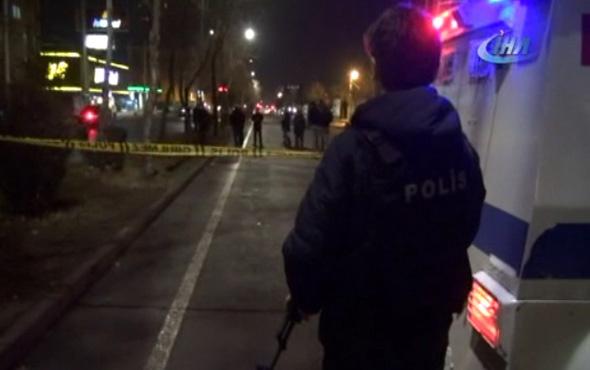 Polis Merkezinin olduğu bölgeye el bombası attılar