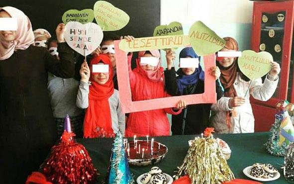 Ortaokulda 'kızların kapanma partisi'ne soruşturma