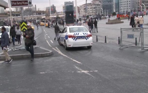 Taksim kapatıldı işte alternatif yollar