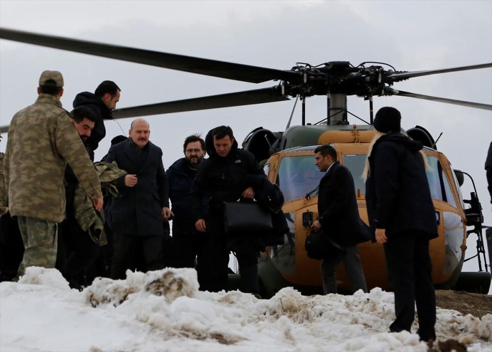 İçişleri Bakanı Soylu yılbaşını Kato Dağı'nda geçirdi