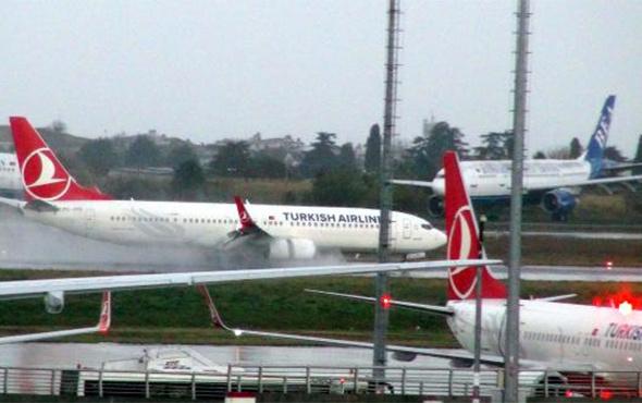 İstanbul'da hareketli dakikalar: Uçaklar yakıt kritiğine girdi!